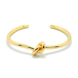 Braccialetti romani online-2017 design nuovo marchio amore bracciale in acciaio inox numeri romani accessori zircone nodo braccialetto braccialetti per le donne gioielli