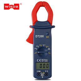 Wholesale measurement range - WHDZ Digital AC Clamp Meter Current Voltage Capacitor Resistance Tester Measurement Auto Range Capacitance Multimeter