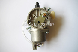 Wholesale Type Cock - Carburetor w  fuel cock float type for Zenoah G4K G45L BC4310 4310 free shipping brush cutter carb Komatsu trimmer parts