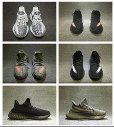 Wholesale Cheap Buckled Boots - 2017 Cheap Wholesale Mens and Womens Running Shoes Boost 350 V2 SPLY-350 STEGRY BELUGA SOLRED Primenkit Sneakers Boosts Boots