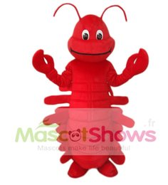 Wholesale Custom Crab Costume - Red Lobster Mascot Costume Adult Size Fancy Dress Suit Crab Costume Sea