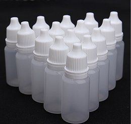 Wholesale Empty Oil bottle needle bottle Plastic Dropper Bottle Empty E Liquid Bottle Oil Bottle Mixed Size ml