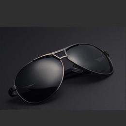 Wholesale Eyewear Sun Glasses Driving - New Men's Retro UV400 Polarized Sunglasses Sports Eyewear Driving Glasses Brand Design Sport Fishing Goggles Coating Shade Sun Glasses Cool