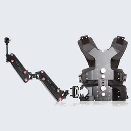 2019 système de stabilisation de caméra Livraison gratuite pour haute qualité 3-15KG Caméra Steadicam Load Gilet System + bras de poignée unique pour stabilisateur Steadycam système de stabilisation de caméra pas cher