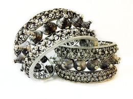 Wholesale Rivet Brass - Special Rivet Rock Cuff Bracelet Bangle Tibet Silver Carved Unisex Free SHipping