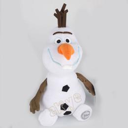 Wholesale New Soft Doll - Free Shipping Froze Olaf Elsa Anna Plush Toys Kawaii 20cm Snowman Cartoon Plush Toys Doll Soft Stuffed Toys