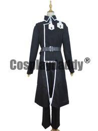 Wholesale Kirito Cosplay Black Sword - Sword Art Online Alicization Kirito Kirigaya Kazuto Black Set Cosplay Costume S002