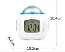Wholesale Cheap Mechanical Clocks - Pretty Multi Function Colorful Light Calendar Thermometer Music Calendar Alarm Clock Alarm Clocks Cheap Alarm Clocks