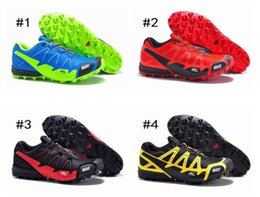Wholesale Men S Height Increasing Shoes - Running Shoes For Men S-Lab Fellcross 2 Lightweight Leisure Athletic Shoes Men's Sports Shoes Trail Racing 40-46