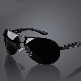 Wholesale Polarized Mens Aviator Sunglasses - 2017 Aviator Designer Mens Polarized Sunglasses Men Luxury Brand Sun Glasses For Driving Mirrors Oculos Classic UV400 Rays Protection