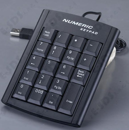 Wholesale Financial Wholesaler - New 2016 USB digital keyboard USB keypad financial keyboard USB cable keyboard USB19 key number keys
