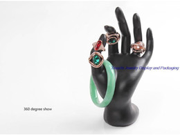 Wholesale Jewelry Display Hand Stands - Wholesale 3pcs lot Resin Hand Mannequin Decoration Holder for Women Jewelry Display Stand For Ring and Bracelet