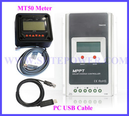 Wholesale Solar Panel Mppt Charge Controller - Tracer 4210A 40A 12V 24V MPPT Solar Charge Controller with MT50 Panel meter & PC communication remote