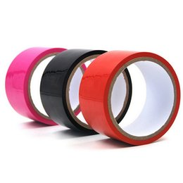 Wholesale Sex Tapes - No Glue Electrostatic Adsorption Sex Bondage Adhesive Tape Sexual Foreplay Flirting without adhesive Static Film Alternative Novelty Toys Co