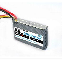 Wholesale Hrb Battery - HRB Lion Power Lipo battery 11.1V 2600MAH 30C 3S1P Max 30C Lipo battery 5 pieces lot
