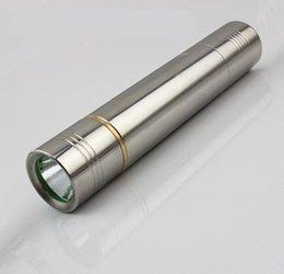 Wholesale Led Jade Torch - According to CREE Q5 flashlight torch light professional jade jade white jade identification as yellow stone