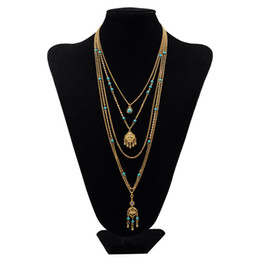 Fashion Layering Collane Set Donne Collana multi strato Oro Lungo catena sottile Minimal Gold Fill delicato Boho Jewelry Collier da