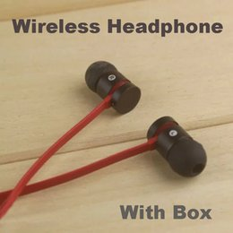 Wholesale Bass Gold - High quality Famous Wireless Bluetooth Headphone Stereo bass in-ear with mic AAA Earphones Headset for phone Headphone brand with retail box