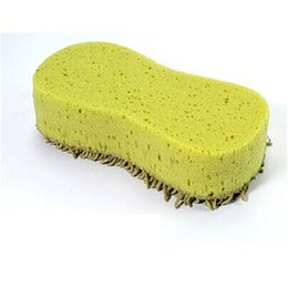 Wholesale Clean Coral - Wholesale- High Quality car-styling, tire sponge wheel clener Practical Cleaning Washing Cleaner Coral Microfiber Sponge Brush For Auto Car