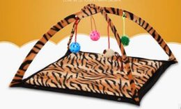 Wholesale Free House Furniture - Pet Cat Bed Toys Mobile Activity Playing Bed, Toys Cat Bed Pad Blanket House, Pet Furniture Cat Tent Toys Free Shipping