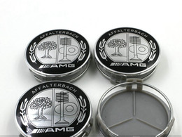 2019 cubo da roda jaguar 4 pçs / lote 75 MM Para Ser n z AFFLTERBACH AMG / GLS / GLC / GLA / GL / GLK / ML Auto Roda Tampa Do Carro Emblema Etiqueta Do Carro Roda Hub Cap