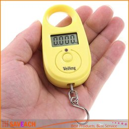 escalas colher atacado Desconto 25kg x 5g Mini Digital Scale Portable LCD Weight Balance Electronic Weighing Scale Hanging Luggage Scale Pocket Size