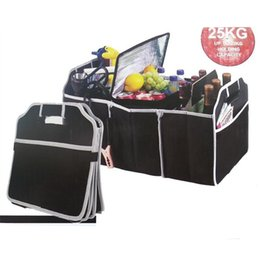 Wholesale Folding Trunk Organizer - Car Trunk Organizer Car Toys Food Storage Container Bags Box Styling Auto Interior Accessories Supplies Gear Products