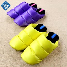 Wholesale House Outlets - Wholesale- Factory Outlet 2016 Fashion Winter House Slippers Men Women Indoor Shoes Pink Home Slipper Warm Cotton-padded Pantuflas Terlik