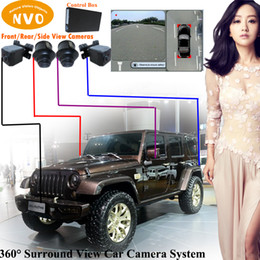 Wholesale Dvr Jeep - HD Parking assistance system IP68 waterproof shockproof car rear view surround view camera system with DVR function for Jeep Wrangler