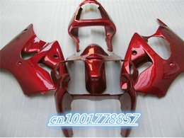 Wholesale Zx6r 636 Paint - Red black paint fairing Kit for 2000 2001 2002 Ninja ZX6R 636 00-02 ZX-6R 00 01 02 ZX 6R ZX636