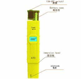 Wholesale Automatic Test - 10pcs lot hot selling Automatic Temperature Compensation LED quality test pen COND TDS  EC detector environmental monitoring