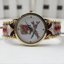 Wholesale Pink Skull Dresses - 2016 New Fashion casual Skull Watch Ladies Golden quartz Watch Women Dress Wristwatch Girl's Gift 12 Colors