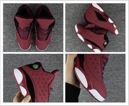 Wholesale Top High Cut Basketball Shoes - Air retro 13 red velvet with high quatily best quatily man and woman basketball shoes top shoes size eur 41-47 free shipping