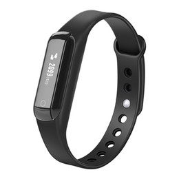 Acheter en ligne Moniteur de sommeil de podomètre-C3 Waterproof Bluetooth Podomètre Sports Smart Wristband Support Rappel de messages et Sleeping Health Monitoring Smart Bracelet
