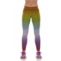 Wholesale Express Clothing - Wholesale-YIWU LAIMAI 2016 New Affordable Neon Dot Yoga Pants Women's Running Leggings Hot Express Yoga Clothing