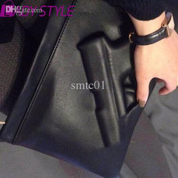 Wholesale Guns Coffee - Wholesale-Day Clutches Women Messenger Bags 3d Print Gun Shoulder Bags PU Leather Lady Day Pistol Clutches Women Crossbody Bag HL6503