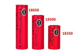 Wholesale Vamo Batteries - AW IMR 18350 18500 18650 LI-MN high drain battery for Mechanical Mods Itaste Vamo Electronic Cigarette e cig kits cheap