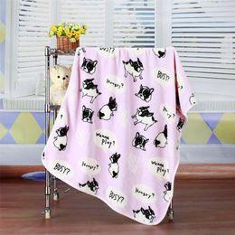Wholesale Air Conditioner Blanket - Comfortable blanket cartoon coral flannel, flannel blanket, air conditioner sofa, small quilt, cartoon pet, children nap blanket,lap blanket