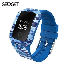 Wholesale Russian Camouflage - Wholesale- Camouflage Smart watch Heart Rate Monitor Smart bracelet Fitness Bracelet Smartwatch wristband for android IOS smart band
