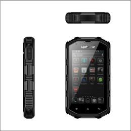 telefone de casa rosa quente Desconto produtos ao ar livre 4 '' WATERPROOF PHONE WCDMA até IP68 militar telefone robusto