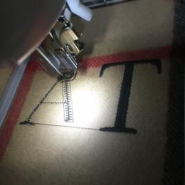 Argentina Iniciales adicionales personalizadas Cuota del monograma para la bufanda de cachemira, 1-3 letras, deja el mensaje Suministro