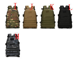 Wholesale Quality Tactical Backpack - Quality 40L 3D Men Women Outdoor Sport Military BAGS Tactical climbing mountaineering Backpack Camping Hiking Trekking Rucksack Travel Bag