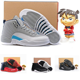 Wholesale High Quality retro s Basketball Shoes online Men Women Flu Game French Blue XII sport Shoes sneakers trainers