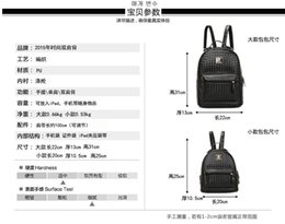 Wholesale Candy Ba - 2015 autumn new female bag woven shoulder bag backpack Japanese and Korean version of the influx of female students College wind bag lady ba