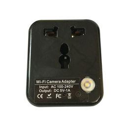 Wholesale Adapter Dvr Spy - Wifi Spy Hidden Camera Adapter H.264 Format Hd Ip Network DVR Hidden Adapter Camera,1080P with Built-in Memory