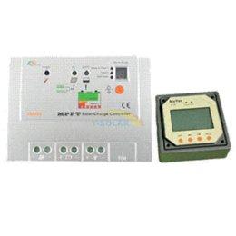 Wholesale Solar Regulator Remote - 10A 100V MPPT Solar Controller with Remote Meter 12 24V Auto Solar Battery Panel Charge Regulator Tracer1210RN Indoor Use 1210RN