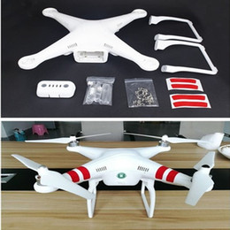 Wholesale Helicopter Gears - UAV DIY Parts! Body Shell for Quadcopter RC Parts for DJI Phantom 2 Part,Quadcopter Upper Lower Cover,Landing Gear Battery cover