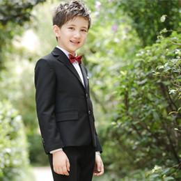 Wholesale Custom Boys Dress Coat - 2017 Full Regular Coat Boys Suits For Weddings Kids Prom Wedding Clothes For Children Clothing Sets Boy Classic Costume Dresses