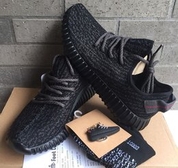 Wholesale Camp Falling Rock - High Quality 350 Boost 2016 Fashion Women & Men 350 Boost Black Moon Rock Oxford Tan Running Sports 350 Shoes Boosts Dropshipping Accepted