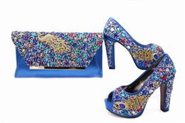 Wholesale Matching Yellow Shoe Bag - 2017 high quality italian shoes and bag purse ,wholesale shoes and purse set high heel pumps shoes matching bag set